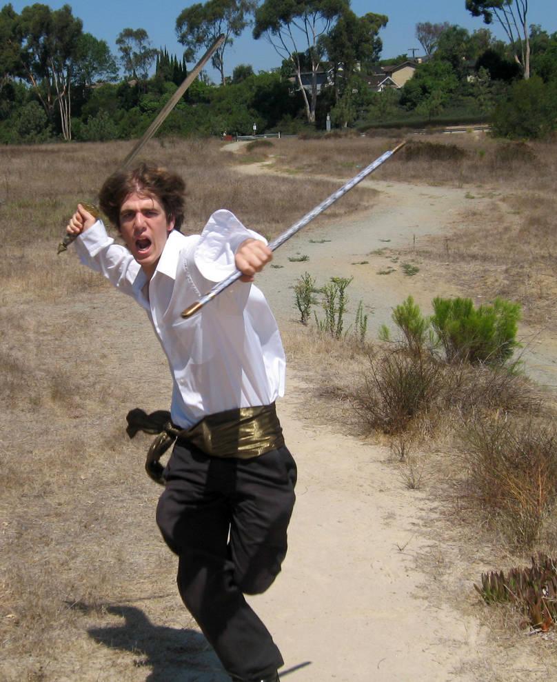 Malestock: running attack 2 by Sinned-angel-stock