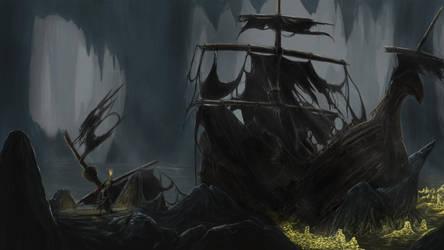 Pirate Treasure by Nightwing-Kain