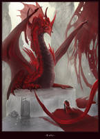 Ruby Dragon by Nightwing-Kain