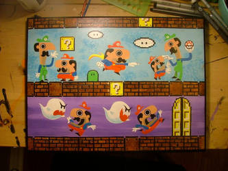 Mario Paints by JustinCoffee