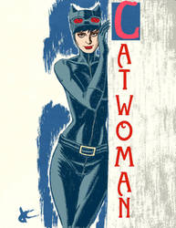 Catwoman by JustinCoffee