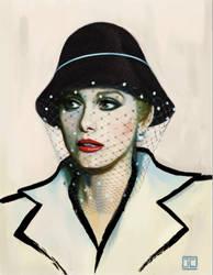 Catherine Deneuve by JustinCoffee