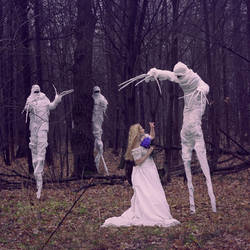 white monsters by Thindomedel