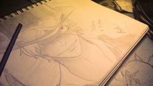 Sabo Sketch by RinALaw