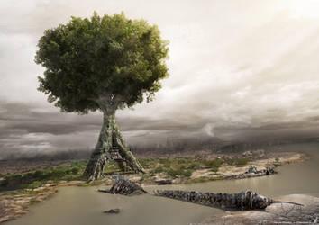Nature Reborn by newke
