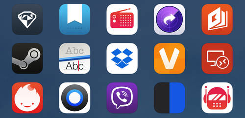 iOS 7 Apps #2 by uchiwa1