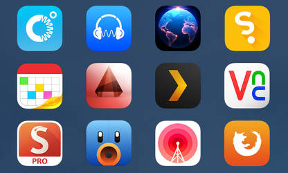 iOS 7 Apps #3 by uchiwa1