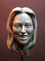 Jackie Blaisdell 1/6 Sculpey by jesserubin