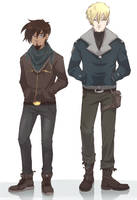 Clothes - Akmar and Soren by Dunklayth