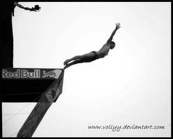 Cliff Diving by vollyy