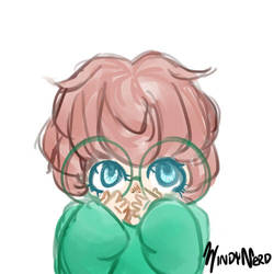 Haru doodle by Benjilewie