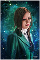 Margot Verger - The Contracting Universe by thecannibalfactory