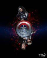 Steve and Bucky - Some Things... (Version 1) by thecannibalfactory