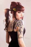 Ginger Zero - Back Ink by dsa157