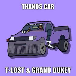 Thanos Car Official Art by tylerkeylost