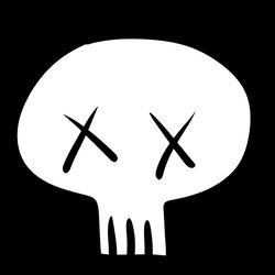 Skull by tylerkeylost