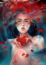 Rose Tea by luciole