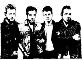 The Clash by kodapops