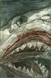Blood Shark by bigredsharks