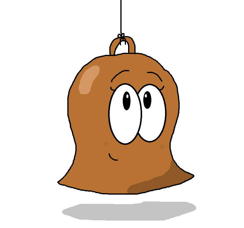 Bell From BFDI (anthropomorphized) By RealMovieMaker9000