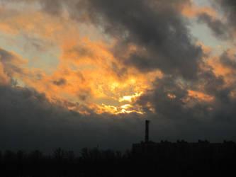 Winter sky by elona-spot