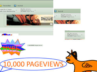10,000 PageViews Hype by starock1