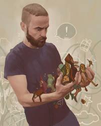 ARTIST'S HANDS by IlyaBrovkin