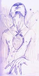 Spaceborn Sketch by mindxscape