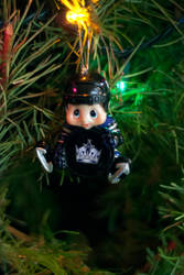 Kings Holiday Ornament by accident