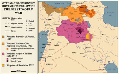 Ottoman Secessionist Movements by Gouachevalier