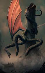 The Three-Headed Dragon by dirkwachsmuth
