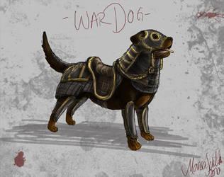 War Dog by MariJoSDesign