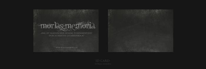 Morlas Memoria ID Card by coinside
