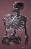 Mister Skeleton by kittygurl521