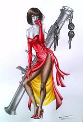 Tekken 1 Tribute - Anna Williams /complete/ by Trix92