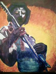 Jimi Hendrix: Purple Haze by GrimRose13