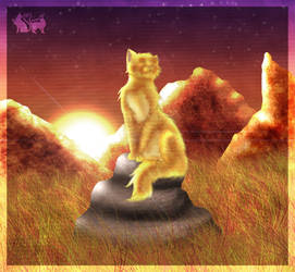 WindClan at Sunset by Annalei