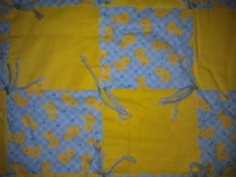 Baby Blanket Ducks by LadySeshiiria
