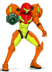 Samus by WaitoChan