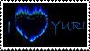 I Heart Yuri_Blue by AJAngelique
