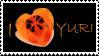 Stamp: I Heart Yuri_Orange by AJAngelique