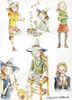 Young professor McGonagall by very-vera