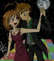 Sakura and Syaoran at prom by thepam
