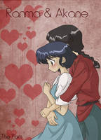 Ranma and Akane by thepam