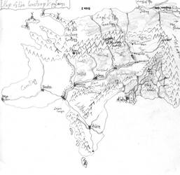 Map of the Western Kingdoms by yanessa