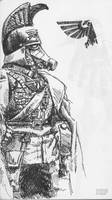 Death Korps of Krieg Commander by KnightInFlames