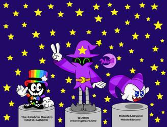 Three Magic Friends by DreamingWizard2000