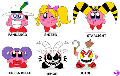 Kirby Friends Hats 2 by DreamingWizard2000
