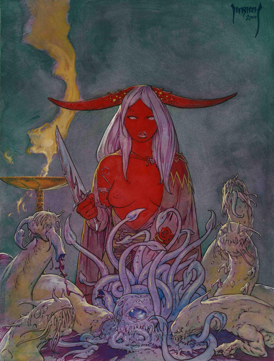 Strange Aeons Holiday Cover by Dubisch