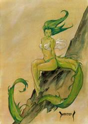 Dragon Girl by Dubisch